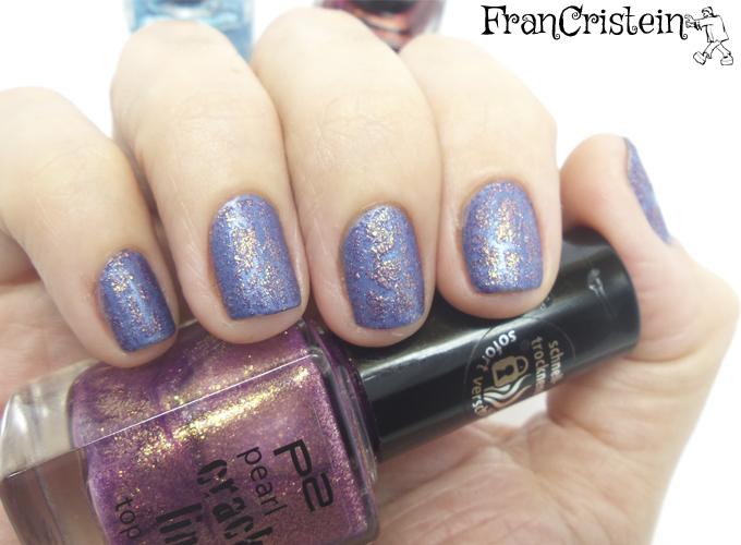 Revlon Intrigue + P2 010 Violet fusion