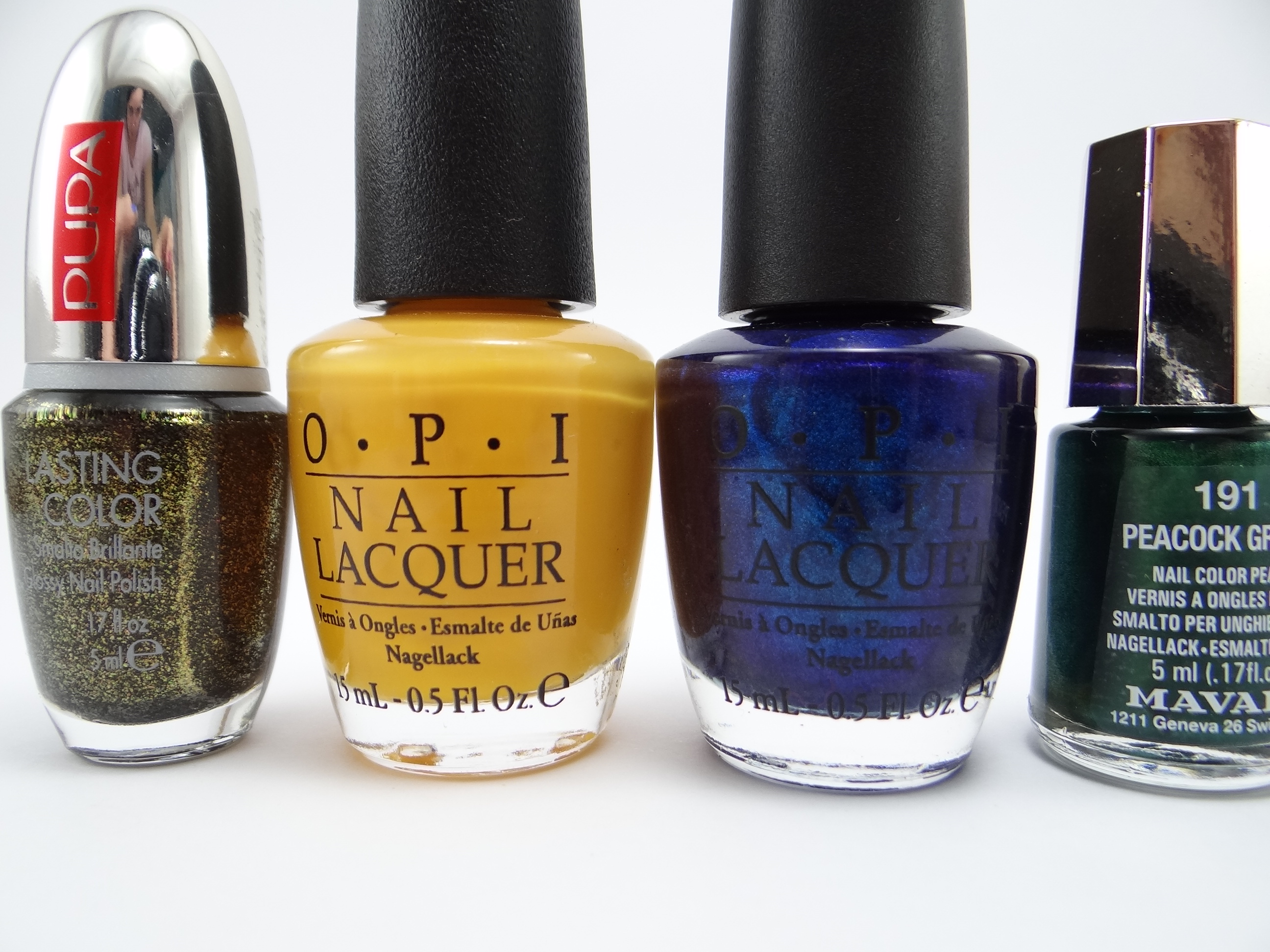 """O.P.I - The """"It"""" Color e Yoga-ta get this blue"""