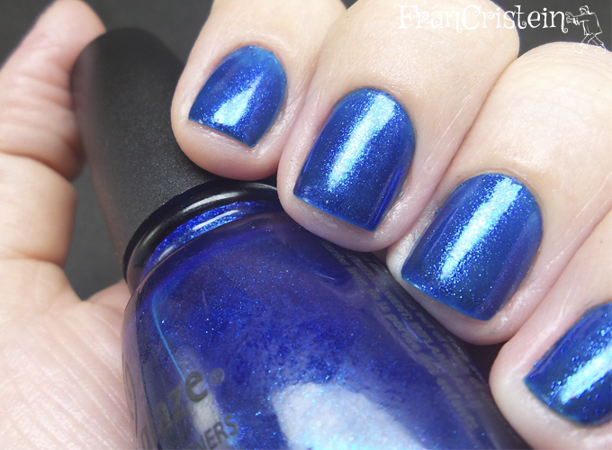 China Glaze Blue Year's Eve