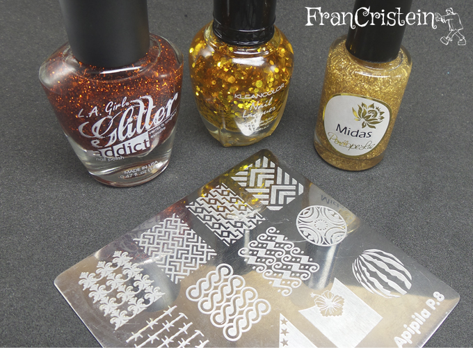 Flamboyant + Tiara Gold + Midas