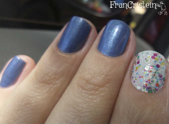 revlon intrigue + china glaze it's a trap-eze! 4