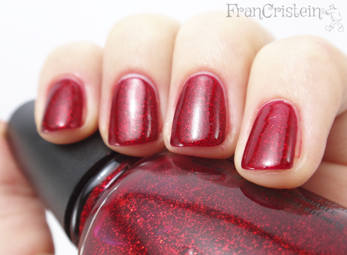 China Glaze - Ruby Pumps (2 camadas)
