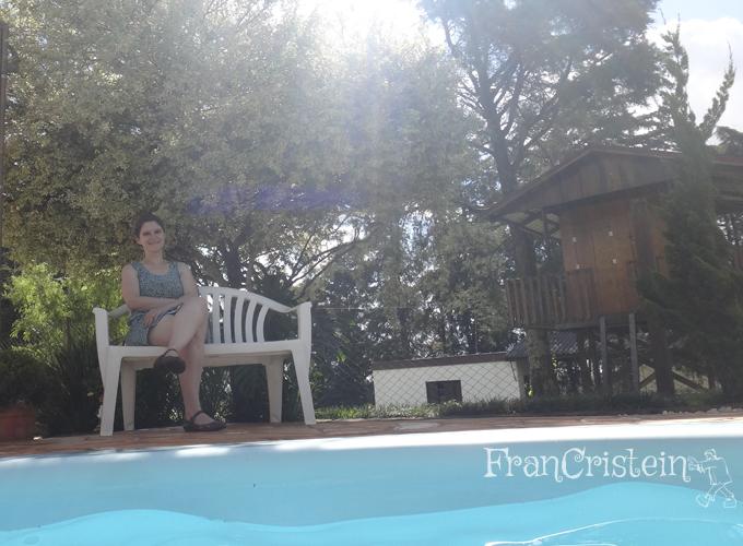 Chatonilda que não quer ir na piscina comingo