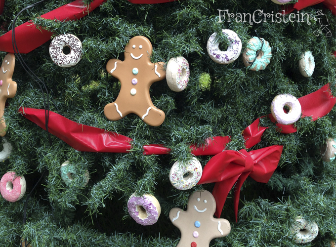Árvore de Natal que dá vontade de comer *_*