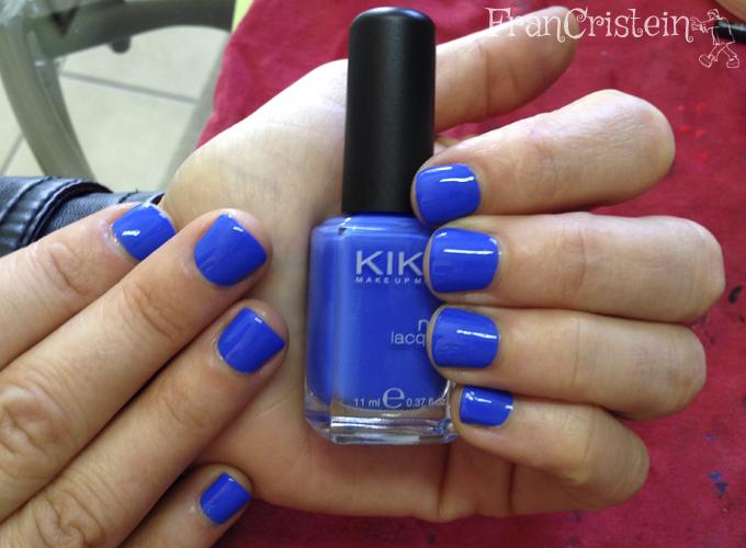 Kiko - 385 Blu Pastello (2 camadas)