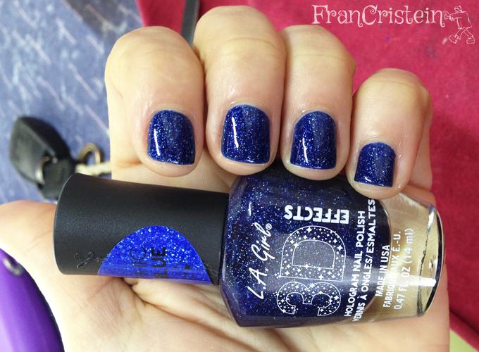 LA Girl - Brilliant Blue (2 camadas)