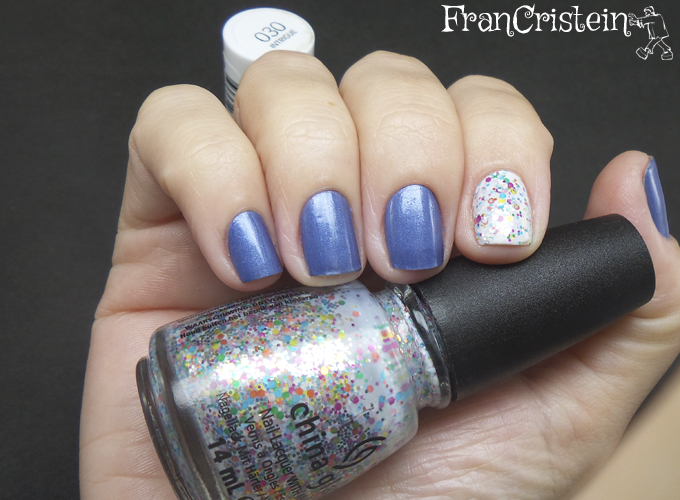 revlon intrigue + china glaze it's a trap-eze! 5
