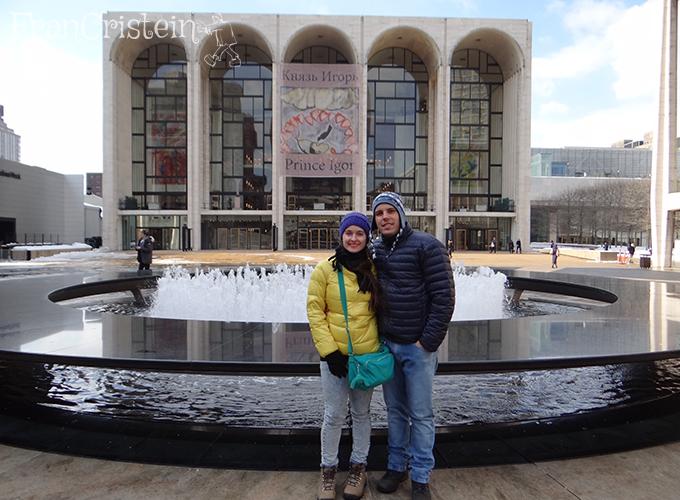 Eu e meu amor no Lincoln center :B