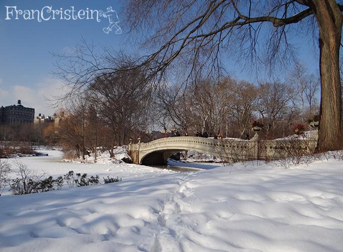 Ponte linda, que paisagem deslumbrante!