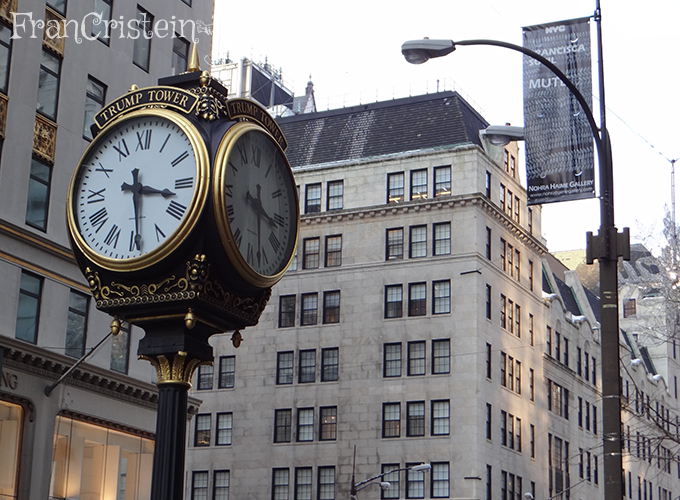 Relógio da Trump Tower