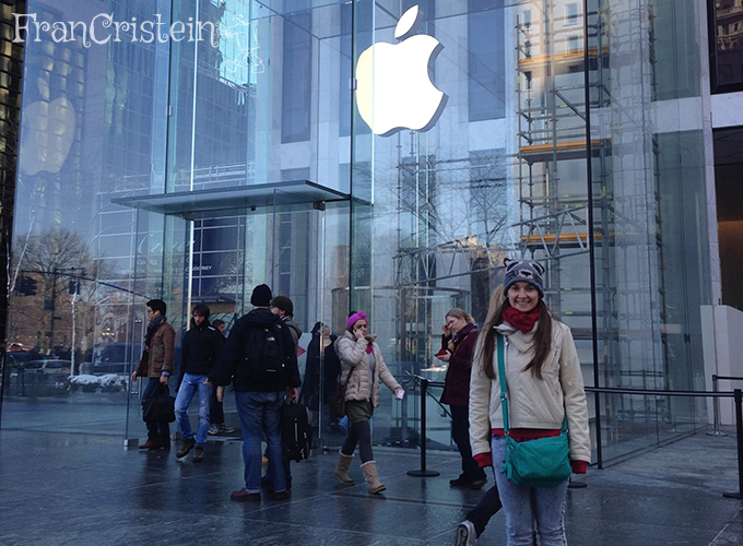 Apple amor do cubo da quinta avenida <3