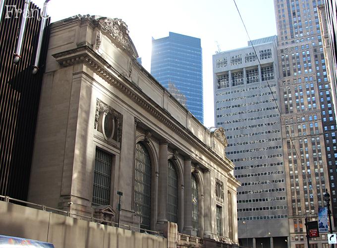 Grand Central vista de lado