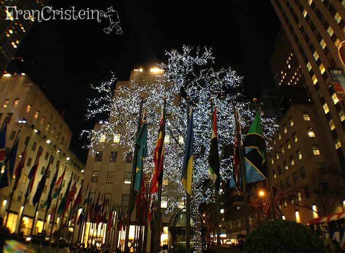 Rockefeller center de noite, lindo demais!