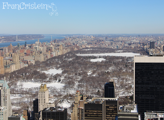 Central Park mortinho, mas essa neve é inesquecível
