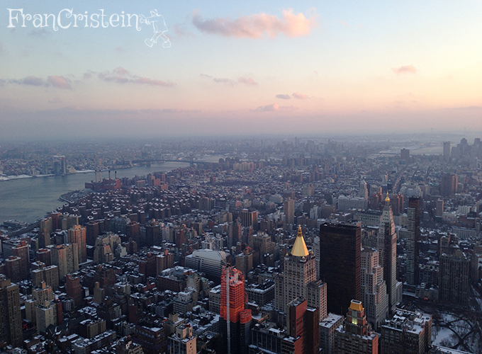 NY vista do Empire State <3
