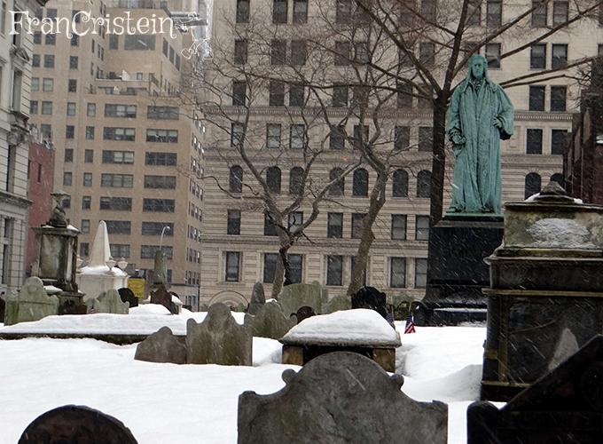 Cemitério medo da Trinity church