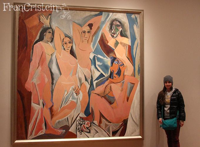 Pablo Picasso - Les Demoiselles d'Avignon <3