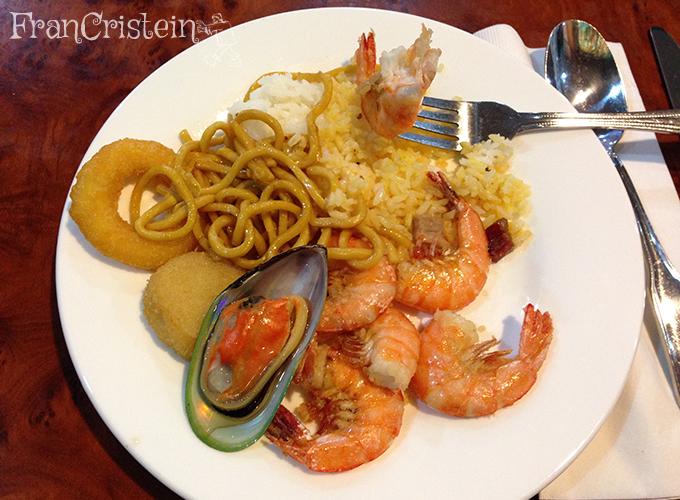 Almoço chinês (?)