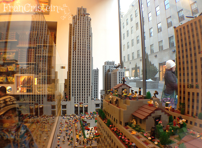 Top of the Rock de Lego, me matem