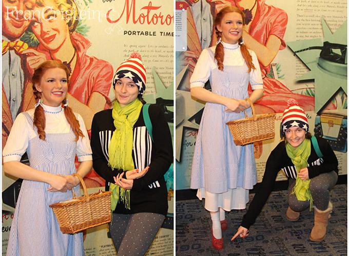 Dorothy, você é do meu tamanho fia