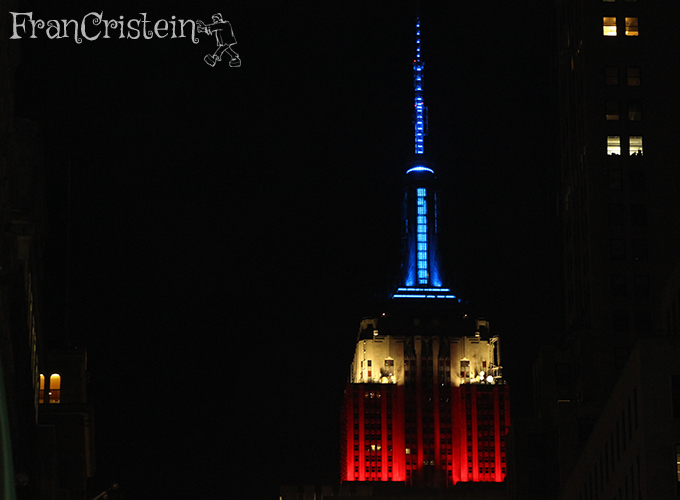 Empire State em homenagem ao Dia do Presidente!