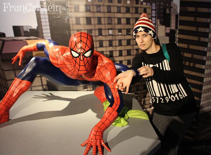 Spiderman e spiderwoman, legenda péssima hauiauhaiua
