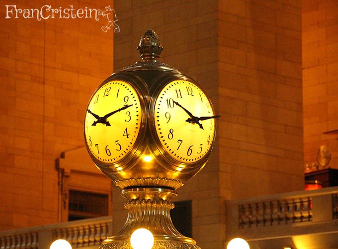 O relógio que o Melman quebrou hahaha