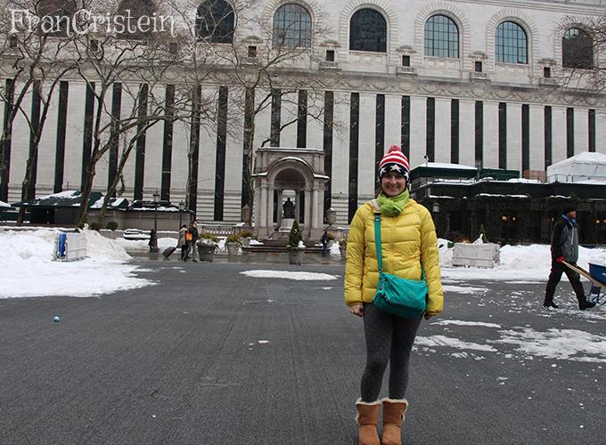 Biblioteca Nacional de NY (parte de trás)