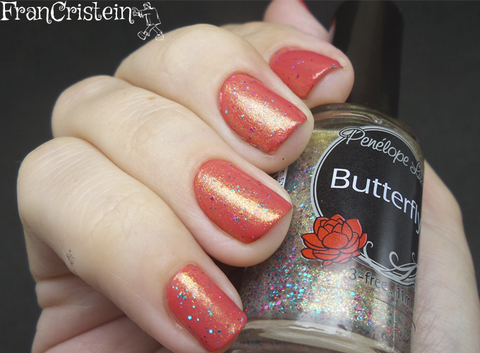 Avon Coral Fashion + PL Butterfly