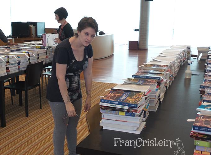 A quantia de livros de cada aluno é assustadora ahaha