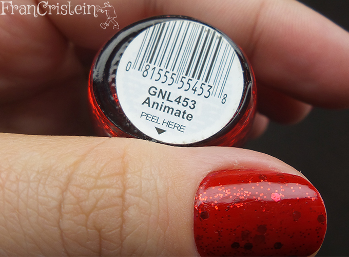 avon vermelho perfeito + l.a. glitter animate (4)