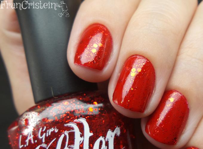 avon vermelho perfeito + l.a. glitter animate (6)