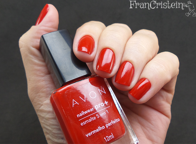Avon vermelho perfeito