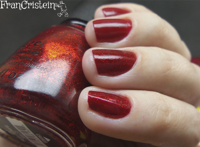 China Glaze Red Satin e Ruby Pumps 3
