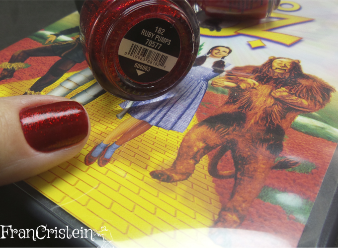 China Glaze Red Satin e Ruby Pumps 4