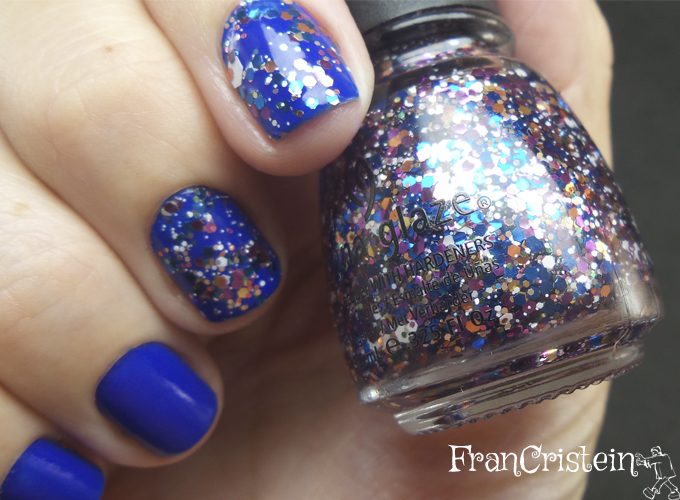 Jordana Blue Phantom + China Glaze Your Present Required 4