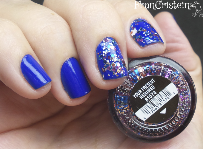 Jordana Blue Phantom + China Glaze Your Present Required 5