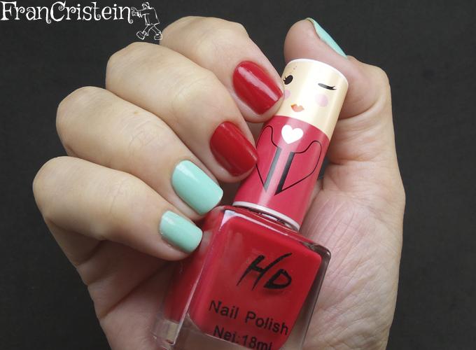 Music Flower Nail Lacquer + HD Nail  Polish (1)