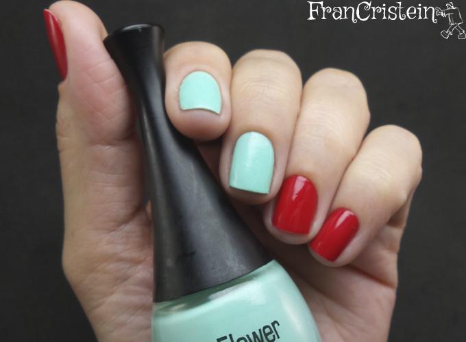 Music Flower Nail Lacquer + HD Nail  Polish (4)