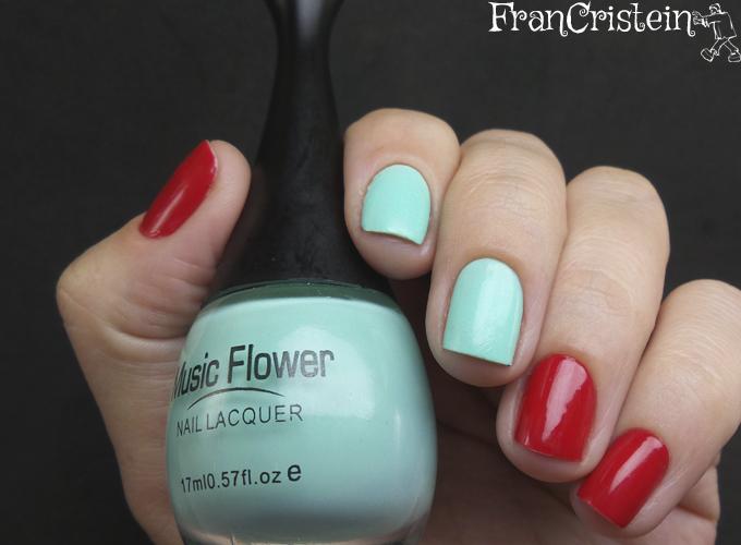 Music Flower Nail Lacquer + HD Nail  Polish (5)