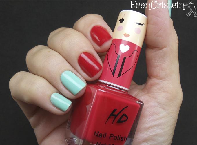Music Flower Nail Lacquer + HD Nail  Polish (6)