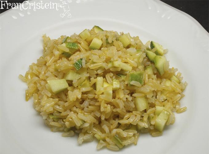 arroz integral com abobrinha 2