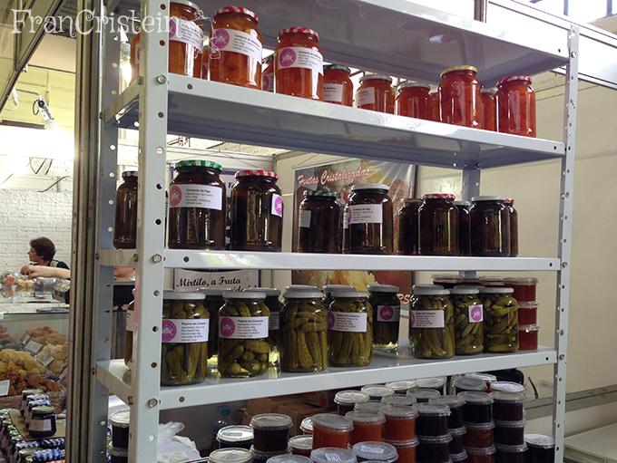 Casa do produtor com deliciosas compotas e conservas