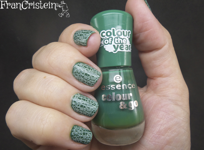essence the green and the grunge + carimbo