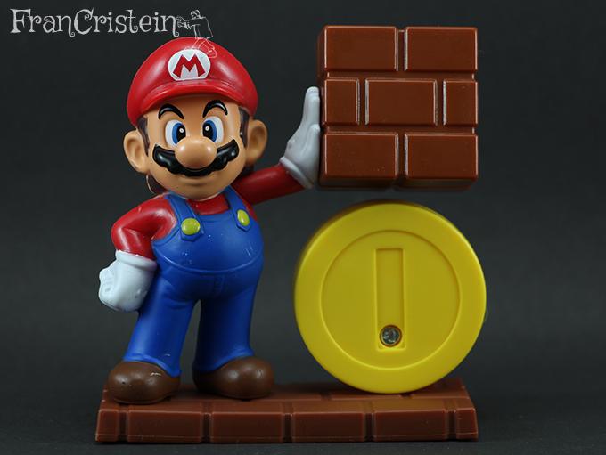 Mario e o bloco + moeda