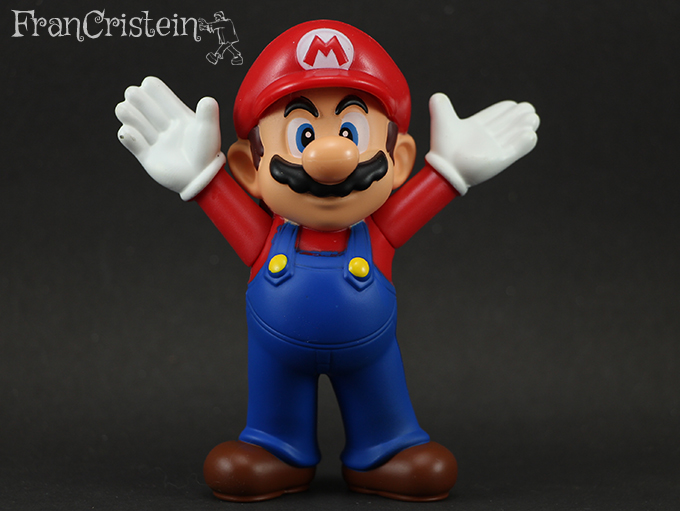Mario comemorando que eu consegui comprar ele \o/