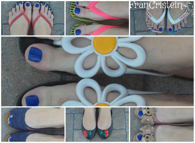 meus calçados de verão