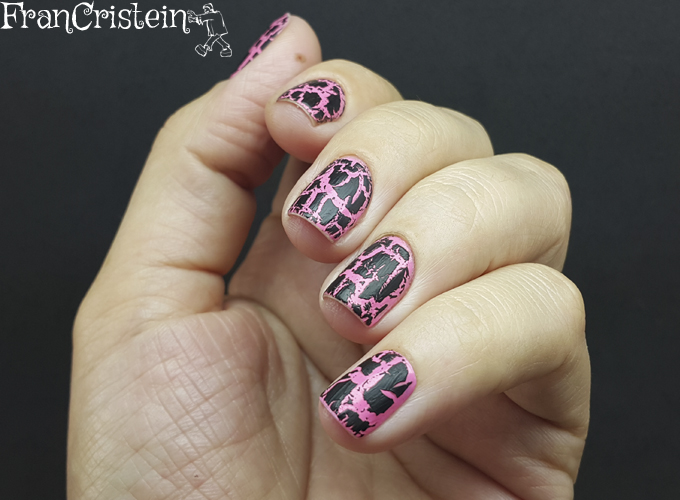 New York Summer 7 - Hot Pink + Barry M - Black Magic