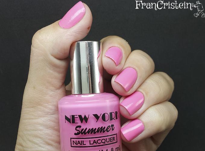 new york summer 7 hot pink