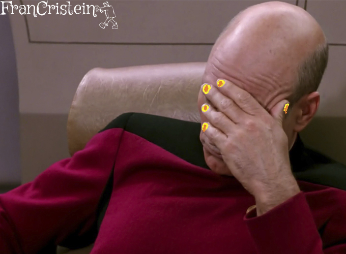 star trek meme desastre unhas haha